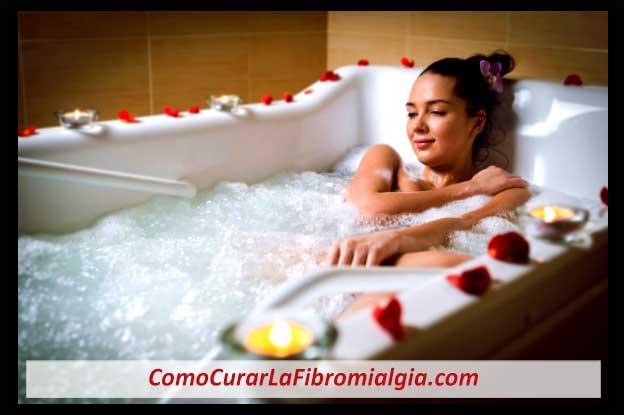 Baño con Sales Minerales para La Fibromialgia